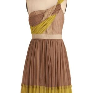 RYU Grecian One Shoulder Dress